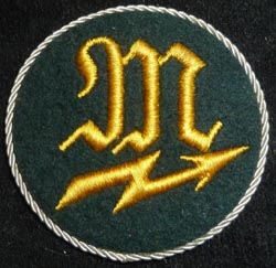 bdd73eaa721ac WW2 German Army Specialty Sleeve Rating Signals NCO Mechanic