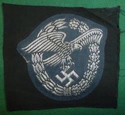 19451d4b12f03 WW2 German Luftwaffe Pilots Badge in Flatwire on Cloth