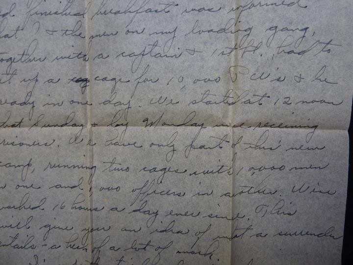 WW2 GI Letters Home - V-E Day, 11th Airborne, German POW's, etc - Click Image to Close